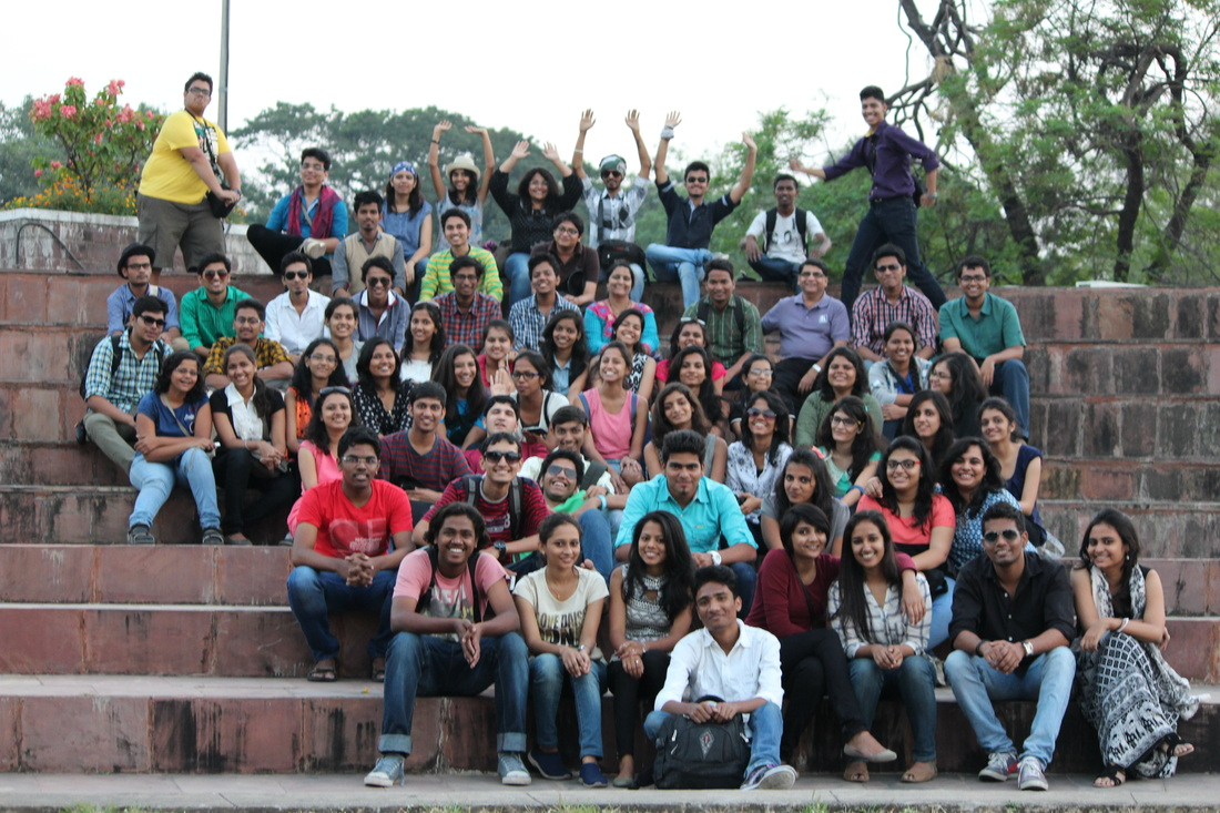 Second year study tour bhopal for J j school of architecture